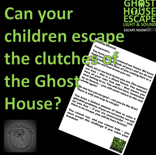 Ghost House Escape Room - Light and Sound Science Topics