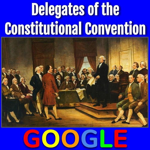 Interactive Gallery: Delegates of the Constitutional Convention