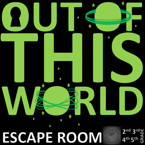 Escape Room: Out of this World - SCIENCE - Space, Earth, Planets and Beyond