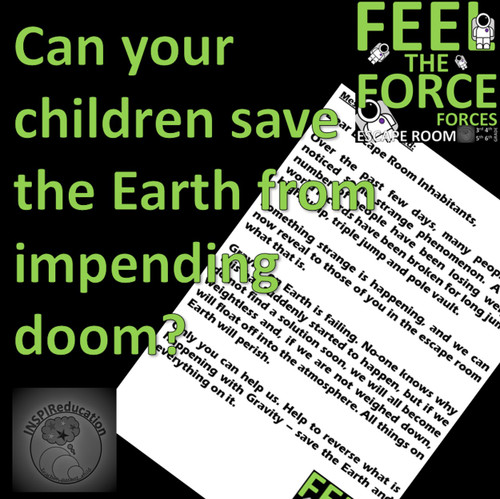 Feel the Force - ESCAPE ROOM - Forces (Science)