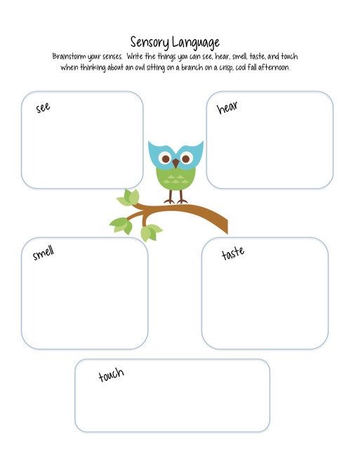 Poetry & Writing activities with parts of speech