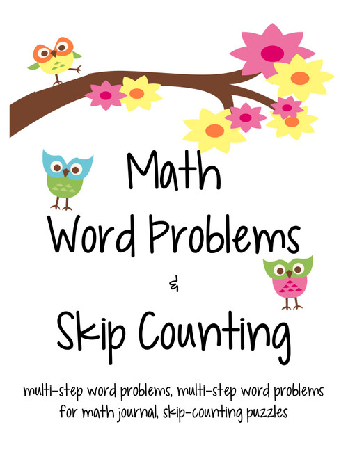 Math Word Problems and Skip Counting