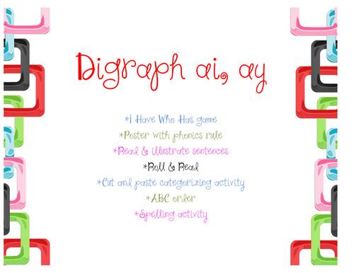 Digraph ai/ay