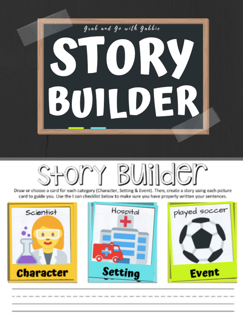 Story Builder Writing Center