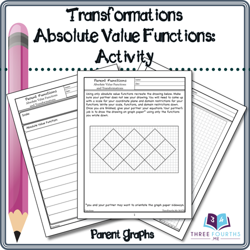 Absolute Value Function Transformations Activity