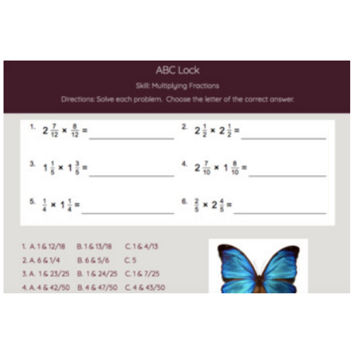 Math Skills Digital Breakout / Escape Room Bundle