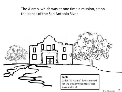 """Remember the Alamo!"" Texas History Comic Coloring Book"