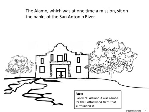 """Remember the Alamo!"" Texas History Comic Coloring Book"