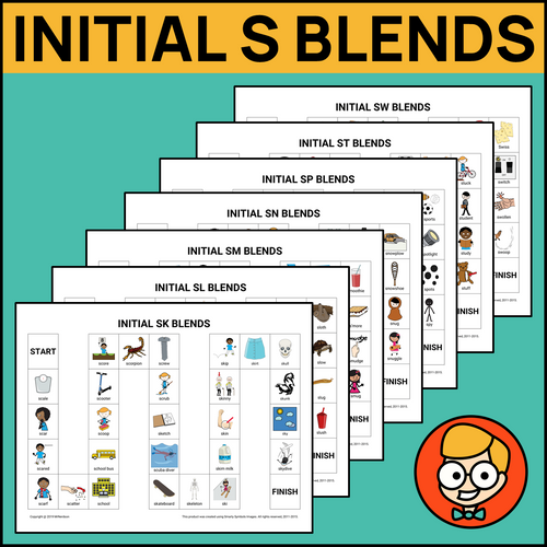 Initial S Blends Board Games