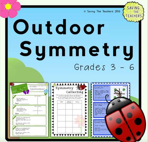 Outdoor Symmetry Activities
