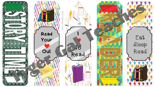 Bookmarks - School Theme (2)