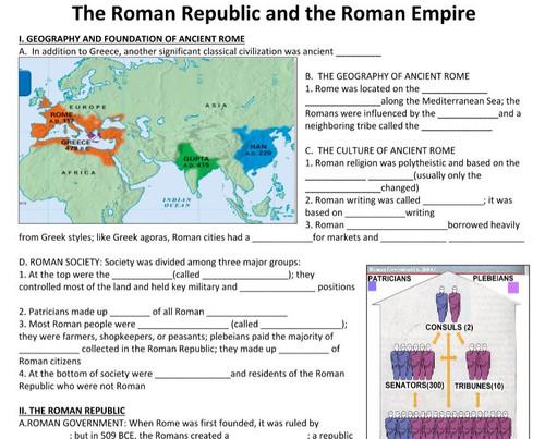 Roman Republic and Roman Empire