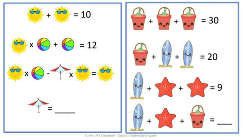 2-4 Seasonal and Holiday Worksheets