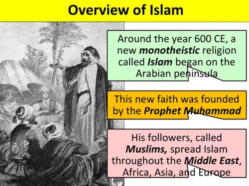 Muhammad and Rise of Islam