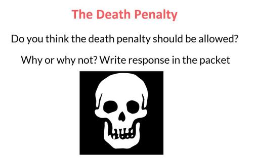 Death Penalty Unit (7 days)