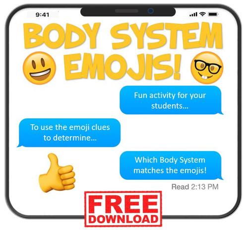 Body System Emojis! FREE download!