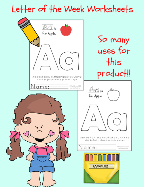 ABC Alphabet Book - 3 styles and 3 sizes