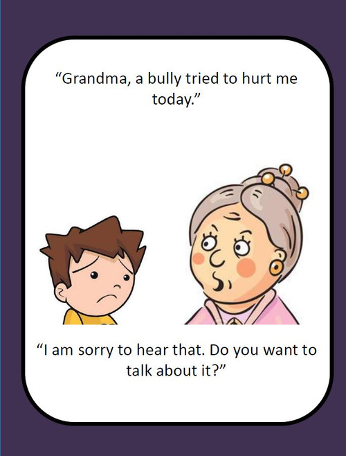 What to do When You are Bullied: A Social Story