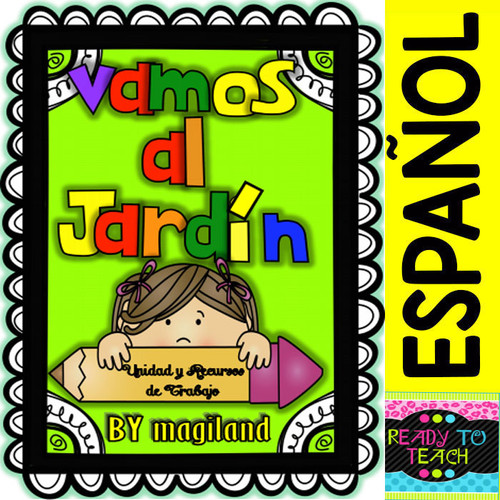 BTS - Vamos al Kinder (Unit Work, Posters, Flashcards and printables in Spanish)