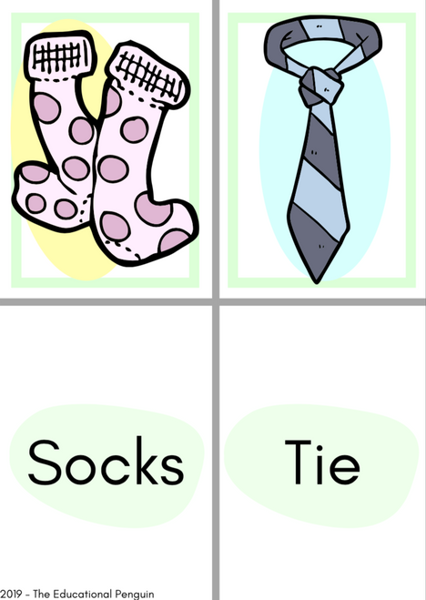 Flash Cards: Clothes and Fashion