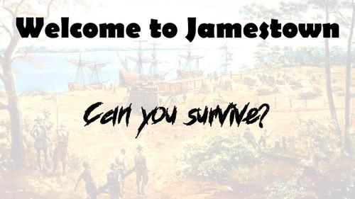 Jamestown Game - Colonial Era - Did I Survive Jamestown