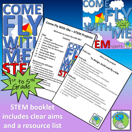 STEM: KITE BUILDING - Structures in Context