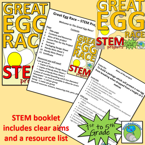 STEM: Protective Packaging - structures in context: Planning, Hints, Resources and certificate