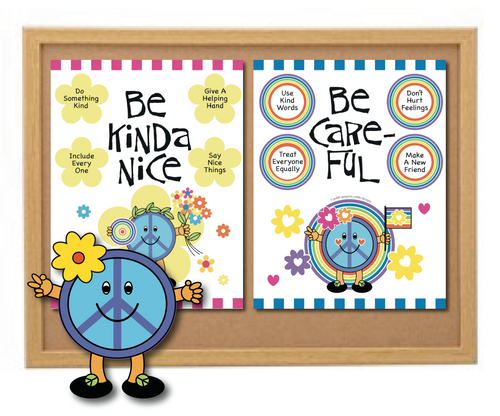 World Peace Love Tolerance Sharing Sayings Posters Set Peace Day & Everyday
