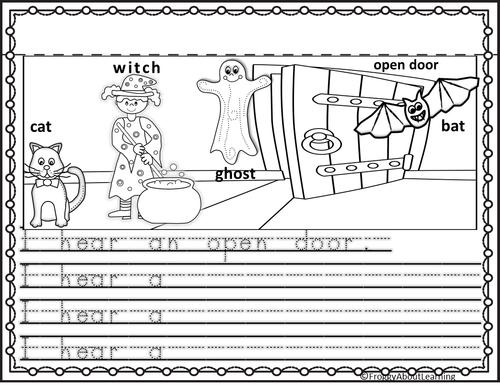 Halloween K-1 Writing Booklet