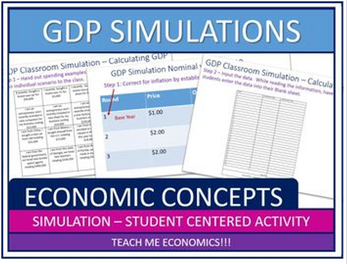 2 Gross Domestic Product (GDP) Simulations, Interactive Activities for Developing Skills in Economics