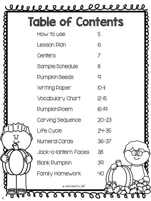 Pumpkins Thematic Unit & Lesson Plans Pre-K, Spanish English Bilingual