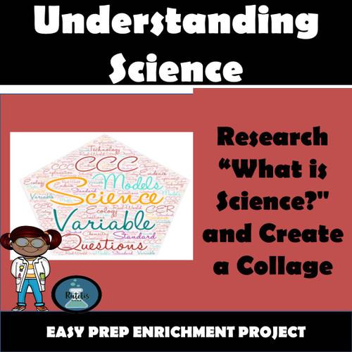 Enrichment Project: Nature of Science Art