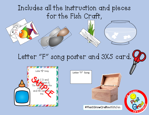 F is for Fish Craft
