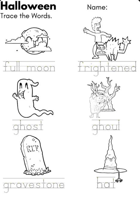 Halloween Worksheet Activity Pack