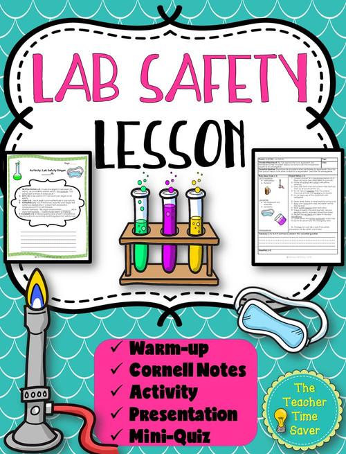 Scientific Investigation Lesson- Lab Safety {FREE}