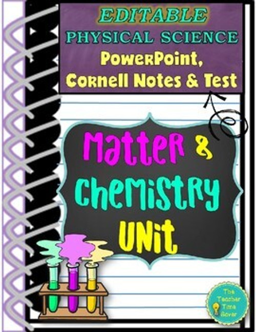 Matter and Chemistry Slides and Notes