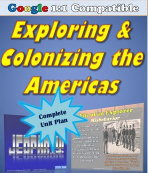 Receive EVERYTHING you need to cover the exploration & colonization of the America's