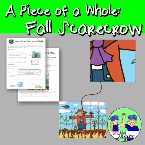 A Piece of  a Whole: Fall Scarecrow