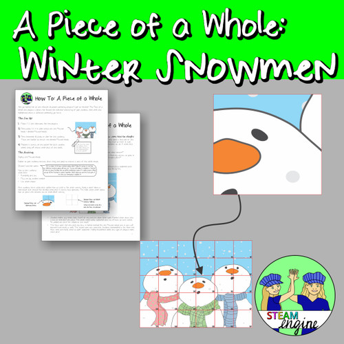 A Piece of a Whole: Winter Snowmen