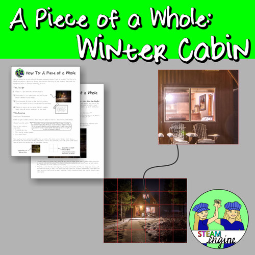 A Piece of a Whole: Winter Cabin