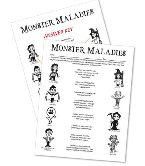 Halloween Monster Maladies!