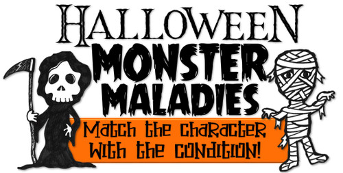 Halloween Monster Maladies! - FREE!