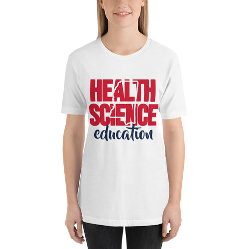 """""""Mississippi Health Science"""" Red and Navy Blue"""