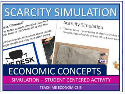 2 Scarcity Simulations and Activities for Economics