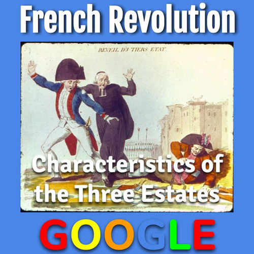 Interactive Cartoon: French Revolution, Characteristics of the Three Estates