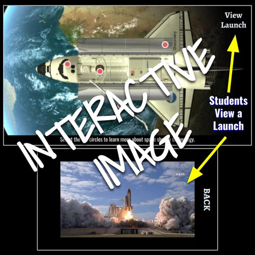 Interactive Image: Space Shuttle Science