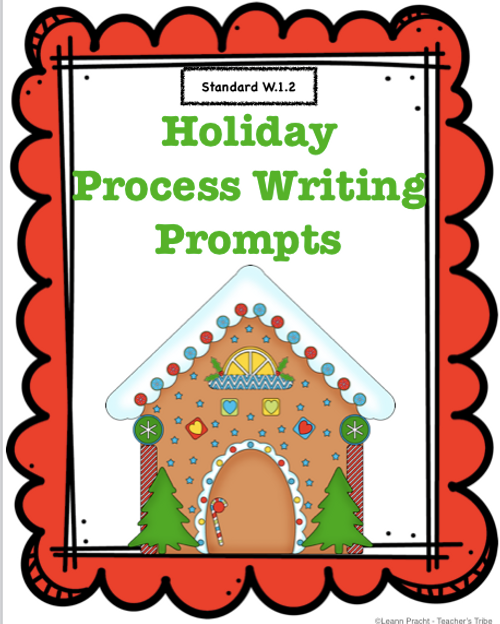 Holiday Process Writing Prompts