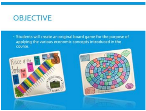 Create an Economics Board Game - Student Centered Learning - Create and Innovate