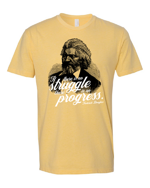 """Frederick Douglass - """"If there is no struggle, there is no progress"""""""