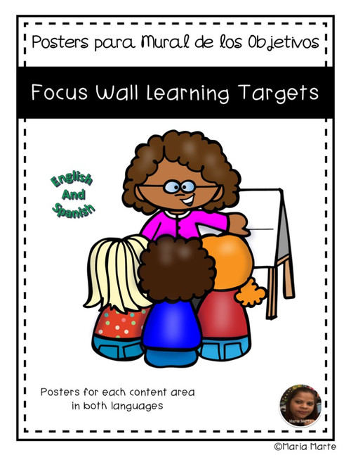 Learning Targets - Focus Wall